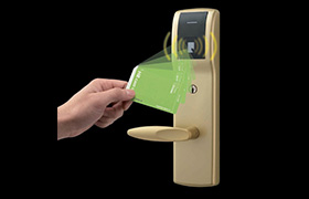 HR Contactless card locks