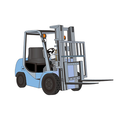 Product Navigator of Forklift